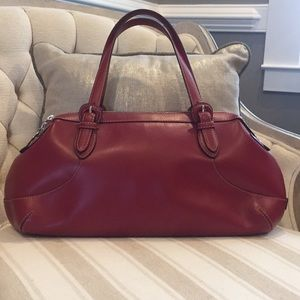 Red Cole Hann Handbag